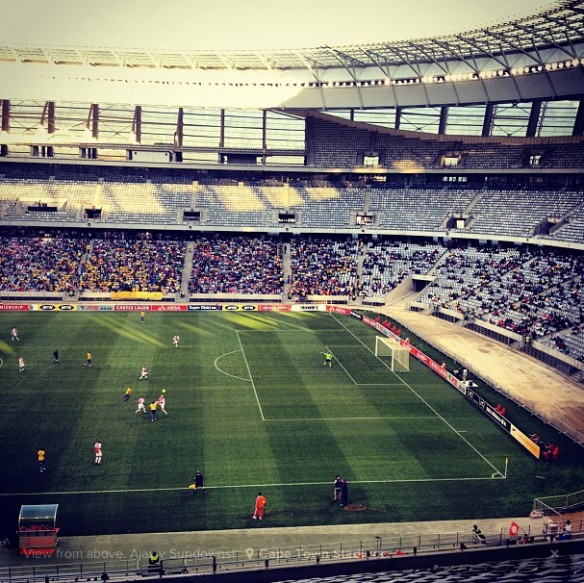 Ajax v Sundowns @ Cape Town Stadium - Pic taken by Stephanie Be