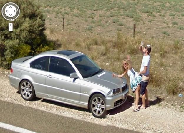 Caught Having Se On Google Street View